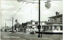 Fotokaart. Wuustwezel. Grens-Frontière. Café Pleysier, Bredabaan. - Wuustwezel