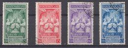 Vatikaan 1939  Mi.nr. 80-83 Krönung Des...  OBLITÉRÉS-USED-GEBRUIKT - Oblitérés