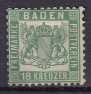 BADE - 18 K. Vert Neuf - Baden