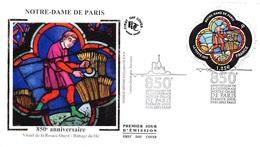 FRANCE. FDC. N°207355. 19/01/2013. Cachet Paris. Notre Dame De Paris. Anniversaire - FDC