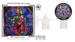 FRANCE. FDC. N°207356. 19/01/2013. Cachet Paris. Notre Dame De Paris. Anniversaire - FDC