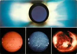 Astronomie - Edition De L'Observatoire De Paris-Meudon - Différents Aspects Du Soleil Le 30 Juin 1973 - En Haut : La Cou - Astronomia