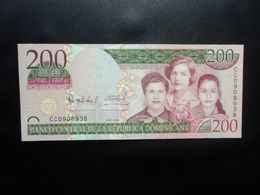 RÉPUBLIQUE DOMINICAINE : 200  PESOS ORO   2009    P 178     NEUF * - República Dominicana