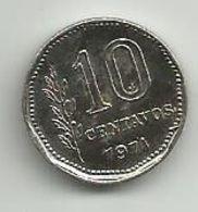 Argentina 10 Centavos 1971. - Argentina