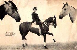 Souvenir Du Royal-Circus Armand Belle / DANS L'ETAT  /LOT 4083 - Circus