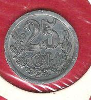 Monnaie De Nécessité De 25 Centimes Pour La Cavalcade De REMIREMONT Vosges Le 28 Mai 1922 - Monetary / Of Necessity