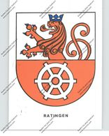 4030 RATINGEN, Stadtwappen - Ratingen