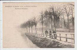 NEUILLY SUR SEINE - HAUTS DE SEINE - INONDATION 29 JANVIER 1910 - BOULEVARD BOURDON - Neuilly Sur Seine