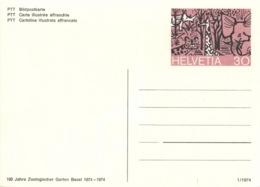 Schweiz Ganzsache P235 * - Postwaardestukken