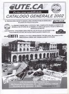 Catalogue UTE.CA MFAL 2002 AM MODELLI DJH Model Loco KITS METAL & RESINA  - En Italien - Livres Et Magazines
