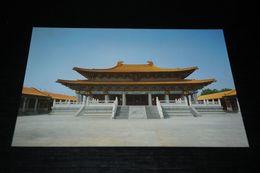 16171-                   CONFUCIUS TEMPLE IN TAICHUNG - Taiwan