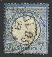 Germany, 7 Kr. 1872, Sc # 10, Mi # 10, Used, Leopoldshohe - Gebraucht