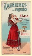 Chromo Biscuiterie H.Lalo, L'Isle-sur-Sorgue. Souvenir De L'expo De 1900. Au Verso, Texte En Provençal. - Confiserie & Biscuits