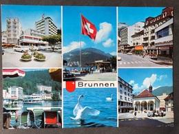 Brunnen Mehrbildkarte Verschiedene Ansichten - SZ Schwyz