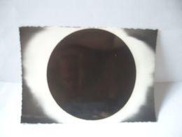 VUE GENERALE DE LA COURONNE SOLAIRE ECLIPSE DU 15 FÉVRIER 1961 TÉLESCOPE DE 1,20 M DE L'OBSERVATOIRE DE HT PROVENCE CPSM - Astronomía