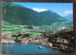 Brunnen Dorfansicht Von Anhöhe - SZ Schwyz