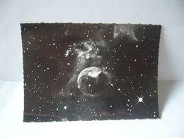 NEBULEUSE GAZEUSE NGC 7635 DANS CASSIOPEE  TÉLESCOPE DE 1,93 M DE L'OBSERVATOIRE DE HT PROVENCE CPSM N.G 4 - Astronomia