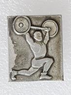 Broche URSS - Brooch USSR - Haltérophilie - Weightlifting - Gewichtheben - Halterofilia