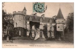 CPA 29 - LE CONQUET (Finistère) - Château De Kermorvan - Dos Simple - Ed. Boelle - Le Conquet