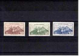 Fezzan N° 30 à 32** Série De 3 Timbres Neufs** - Fezzan (1943-1951)