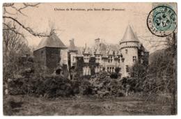 CPA 29 - SAINT-RENAN (Finistère) - Château De Kervéatous - France