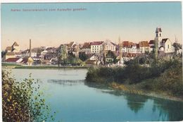 Suisse : AG - Argovie : AARAU : Generalansicht Vom Aareufer Gesehen : - AG Argovie