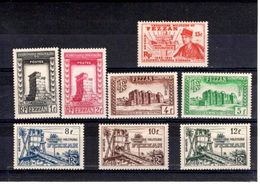 Fezzan N° 43 à 50** Série De 8 Timbres Neufs** - Fezzan (1943-1951)