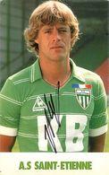 A S De Saint Etienne Football  Portrait De  Nicollas Rep   Autographe - Football