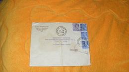 ENVELOPPE ANCIENNE DE 1945./ LOUIS COURTALON PARIS 3e..CACHETS PARIS TRI N°1 DEPART + TIMBRES X4 MERCURE 10C ET IRIS 1F2 - Marcophilie (Lettres)