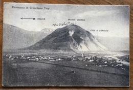 GRAVELLONA TOCE - PANORAMA - VIAGGIATA 1916 - Verbania