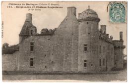 CPA 29 - BRELES (Finistère) - 744. Château De Kergroadès Dit Château Roquelaure - France