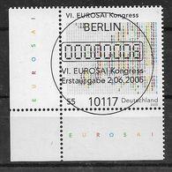 BRD 2005 Mi.Nr. 2470 , Kongress Der EUROSAI - Gestempelt/ Fine Used / (o) - Gebraucht