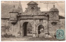 CPA 22 - PLOUARET (Côtes D'Armor) - 1132. Manoir De Guernachannay. Portique D'entrée - Plouaret