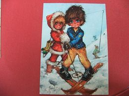 Carte Postale Poulbot Michel Thomas 10x15 - Thomas