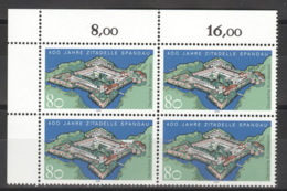 BRD 4x1739 Eckrandviererblock ** Postfrisch - [7] Repubblica Federale