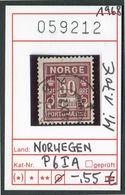 Norwegen - Norway - Norge - Norvège - Michel Porto 6 I A - Oo Oblit. Used Gebruikt6 - Port Dû (Taxe)