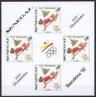 Olympia 1992:  Senegal  Bl **, Imperf. - Olympische Spelen