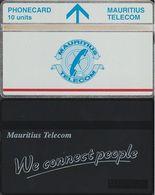 285/ Mauritius; Landis, P21. Red Line; 10 Ut., CP 410A - Mauritius