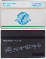 285/ Mauritius; Landis, P23. Green Line; 50 Ut., CP 502B - Mauritius