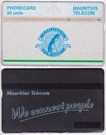 285/ Mauritius; Landis, P23. Green Line; 50 Ut., CP 502B - Maurice