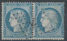 Lot N°56654  Paire Du N°60, Oblit Losange ANCRE, Sans Pli, Ni Clair - 1871-1875 Cérès