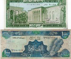 LOTTO LEBANON  5 ,1000 LIVRES - Monedas & Billetes