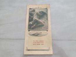 18828-M-  DEPLIANT 4 PARTIES 14X28CM   BOUGIE ODA  ETS H SANTAGNE 9-11 RUE DU TELEGRAPHE PARIS - Advertising