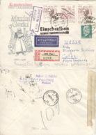 DDR 2x1351,1352,846 Auf Retour-R-Brief In Die Sowjetunion - Lettres & Documents