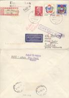 DDR 1377/78,935 Auf Retour-R-Brief Nach Bulgarien - Lettres & Documents