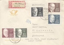DDR 1386/90 Auf R-Brief - Lettres & Documents