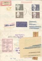 DDR 1440/43 Auf  Retour-R-Brief Nach Dänemark - Lettres & Documents