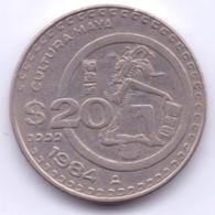 MEXICO 1984: 20 Pesos, KM 486 - Mexico