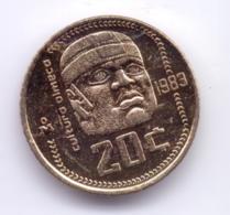 MEXICO 1983: 20 Centavos, KM 491 - Mexico