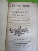 """Fascicule Théâtre Ancien/Comédie En 1 Acte Et En Vers/""""Les Amours De Montmartre""""/Fonpré De FRACANSALLE/ An VI   FAT44 - 1701-1800"""